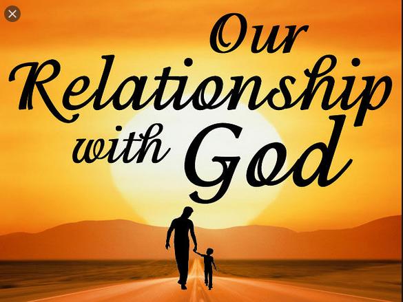 RELATIONSHIP ACCORDING TO THE KINGDOM OFGOD